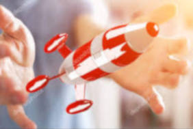 CONSULTANTA FONDURI UE racheta lansata din maini simbol pentru demararea unui start-up.