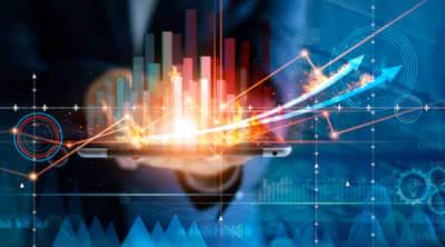 Grafice de crestere a afacerii pentru programul competittivitatea pentru care neotrust ofera consultanta.