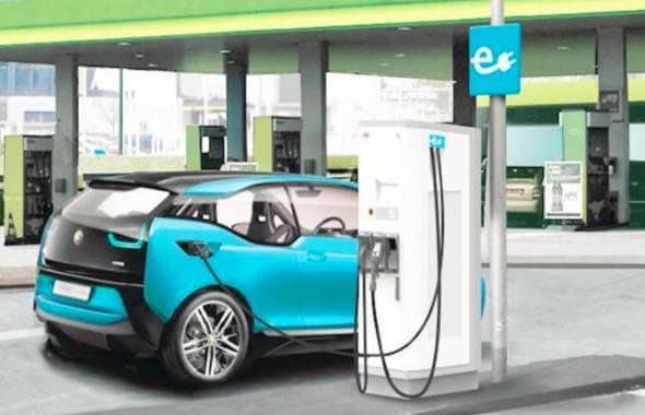 Fonduri Europene pentru statii de reincarcare pentru masini electrice benzinarie