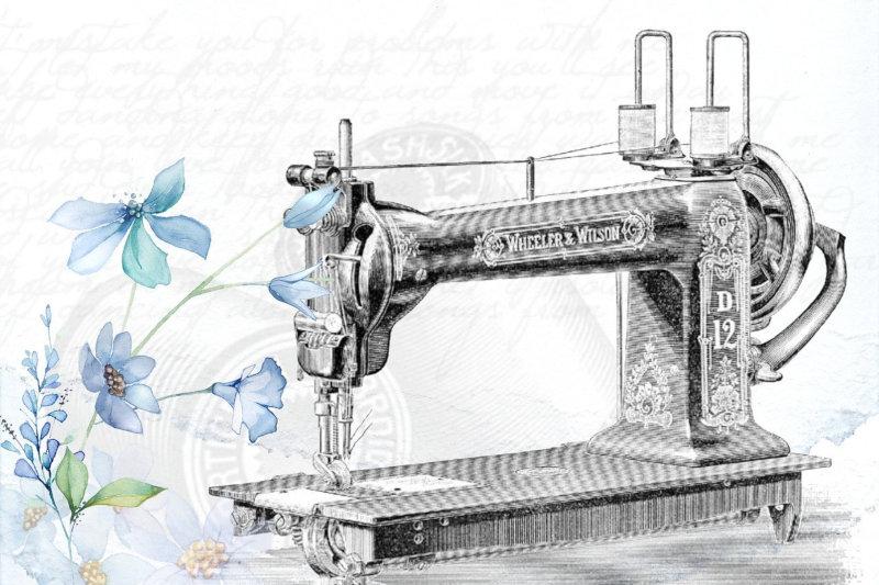 Accesare fonduri europene pentru o croitorie. O masina de cusut vintage folosita la sectiunea Ce utilaje sunt necesare pentru deschiderea unei croitorii.